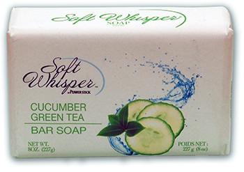 Soft Whisper Bar Soap Cucumber