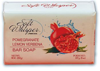 Soft Whisper Bar Soap Pomegranate